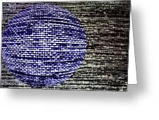 Screen Orb-23 Greeting Card