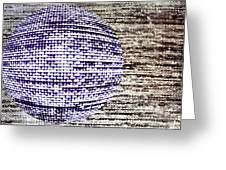 Screen Orb-26 Greeting Card