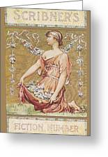 Scribners Fiction Number 1895 Greeting Card