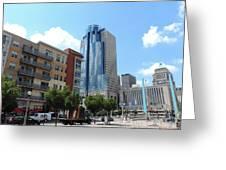 Scripps Center In Cincinnati Greeting Card
