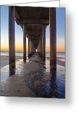 Scripps Pier #1 Greeting Card