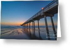 Scripps Pier Greeting Card