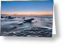 Scripps Pierr Low Tide Greeting Card