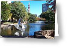 Sculpture Hartford Greeting Card