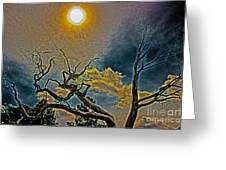 Sculpture In The Sun Greeting Card
