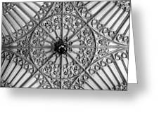 Sculptured Ceiling 1b Greeting Card