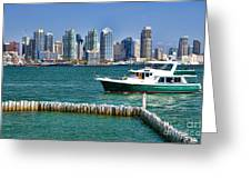 Sd Bay Greeting Card