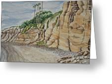 Sd Cliffs Greeting Card
