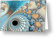 Sea And Sand Greeting Card