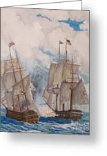 Sea Battle-war Of 1812 Greeting Card