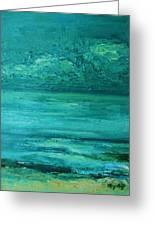 Sea Blue Greeting Card