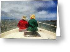 Sea Breeze 4 On The Bay Greeting Card