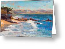 Sea Breeze Greeting Card by Athena  Mantle