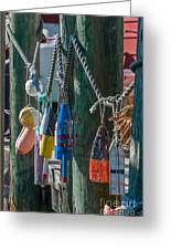 Sea Buoy's Greeting Card