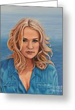 Carrie's Sea Cruise Greeting Card