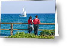 The Sailboat Greeting Card