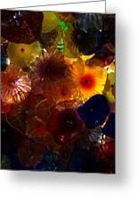 Sea Flowers And Mermaid Gardens Greeting Card