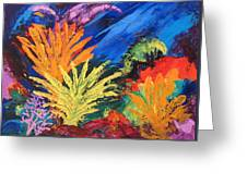 Sea Garden Greeting Card