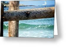 Sea Gate Greeting Card