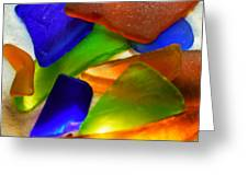 Sea Glass II Greeting Card