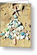 Sea Glass Tree Greeting Card