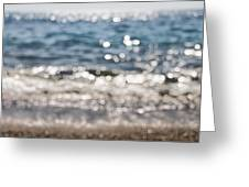 Sea Glitter Greeting Card
