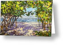 Sea Grape Delight Greeting Card