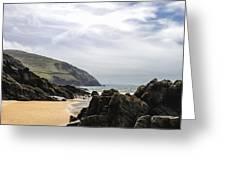 Sea Head Beach Greeting Card