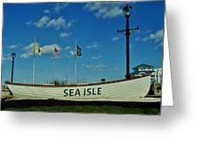 Sea Isle City Greeting Card