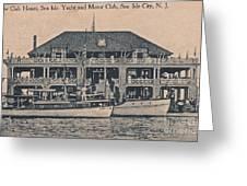 Sea Isle City Yacht Club  Greeting Card