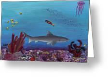 Sea Life Greeting Card