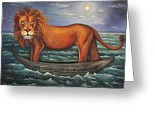 Sea Lion Softer Image Greeting Card by Leah Saulnier The Painting Maniac