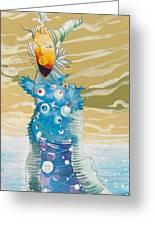 Sea Man Greeting Card