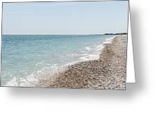 Sea Of Italy Greeting Card