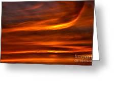 Sea Of Sun Greeting Card by Alan Look