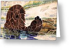Sea Otter Two Greeting Card