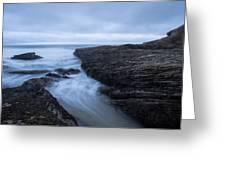 Sea Path Greeting Card
