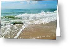 Seashore At Vero Beach Greeting Card