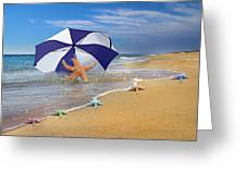 Sea Star Celebration  Greeting Card