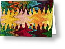 Sea Star Parade Greeting Card