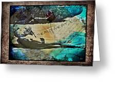 Sea Swept Love Greeting Card