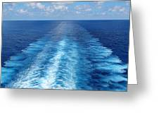 Sea Trails Greeting Card
