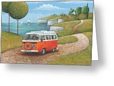 Sea Van Variant 1 Greeting Card
