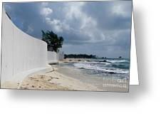 Sea Wall Greeting Card