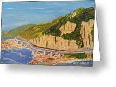 Seacliff Bridge Greeting Card