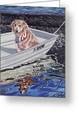Seadog Greeting Card