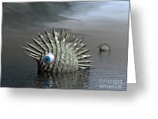 Seafood For Lunch Greeting Card