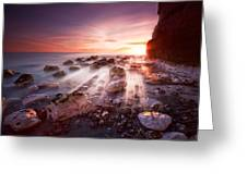 Seaford Sunbeams Greeting Card by Mark Leader