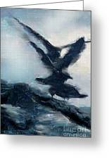 Seagull Grace Greeting Card