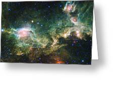 Seagull Nebula Greeting Card